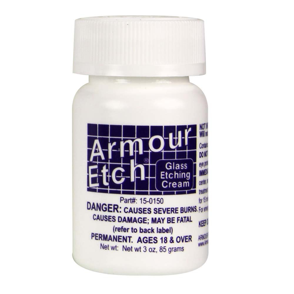 Armour Etch 2.8 Oz Etch Cream Armour Products 15-0150