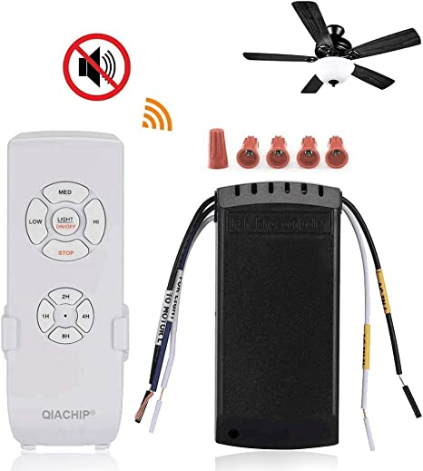 QIACHIP Actualizado WiFi Universal Control Remoto Para Ventilador ...