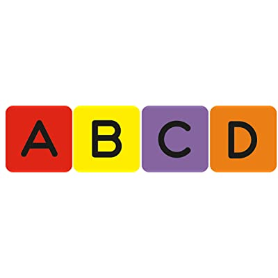 Letters Theme Stickers - 120 Per Package