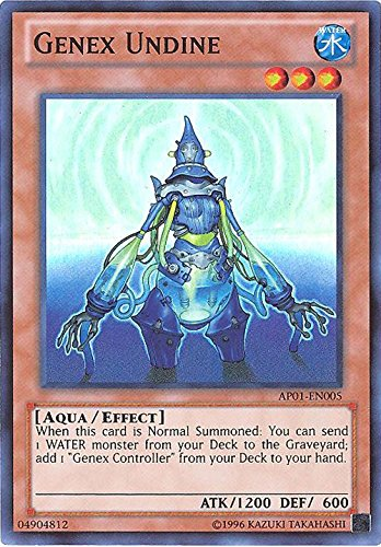 YU-GI-OH! - Genex Undine (AP01-EN005) - Astral Pack: Booster One - Unlimited Edition - Super Rare