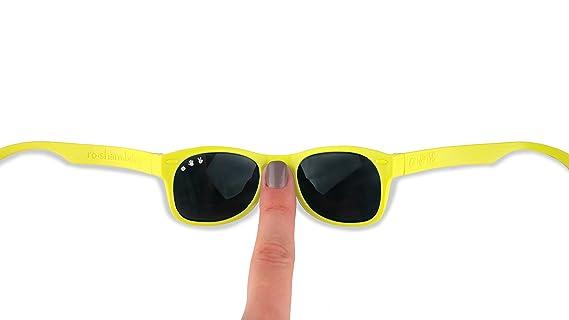 Elly La Fripouille Bebé y niños – Gafas de sol polarizadas irrompibles UV400 – 0 – 18 meses