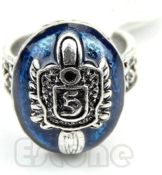 LUREME/® Vampire Diaries Daylight Walking Signet Damons Ring for Fans 04001478