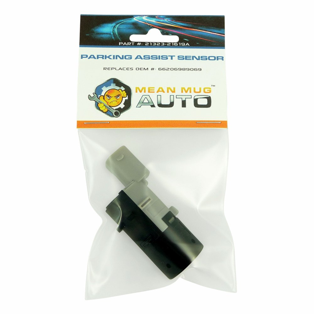 Mean Mug Auto 21323-21619A PDC Backup Parking Sensor BMW - Replaces OEM #: 66206989069, 66216911838, 66200309541