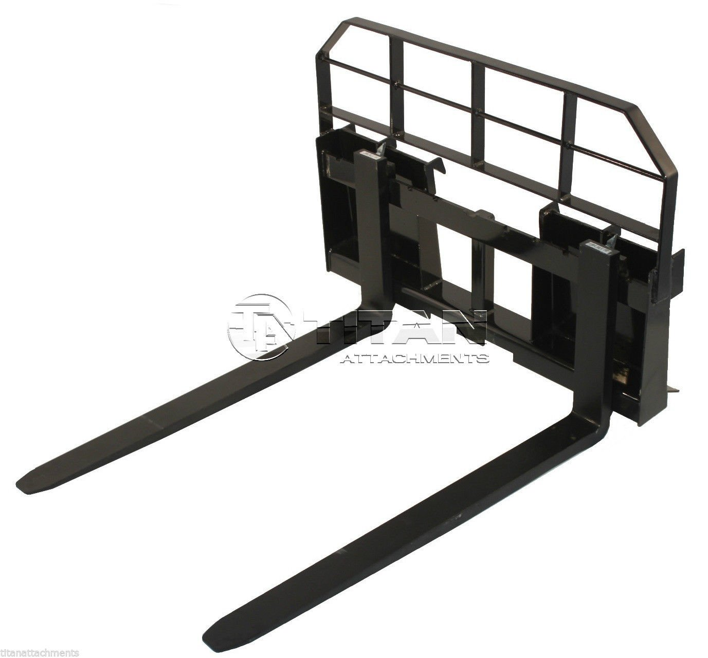 48'' Pallet Fork Attachment 5500lb Capacity Heavy Duty Tractor Forks Skid Steer Quick tach
