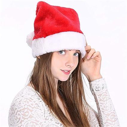 gamma esclusiva modellazione duratura chiaro e distintivo Duoguan - Confezione da 2 Cappelli di Babbo Natale per ...