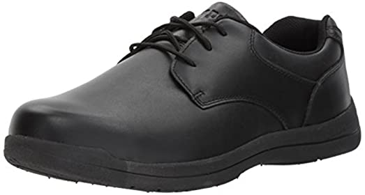 Propet Men's Marv Shoe Black 12 X (3E) & Oxy Cleaner Bundle