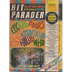 Hit Parader (music magazine), vol. XXVII (27), no. 44 (February 1968) (Jefferson Airplane, Eric Burdon, Monkees, Neil Diamond, Herb Alpert, Pete Townshend, Moby Grape, Isaac Hayes, Otis Redding)