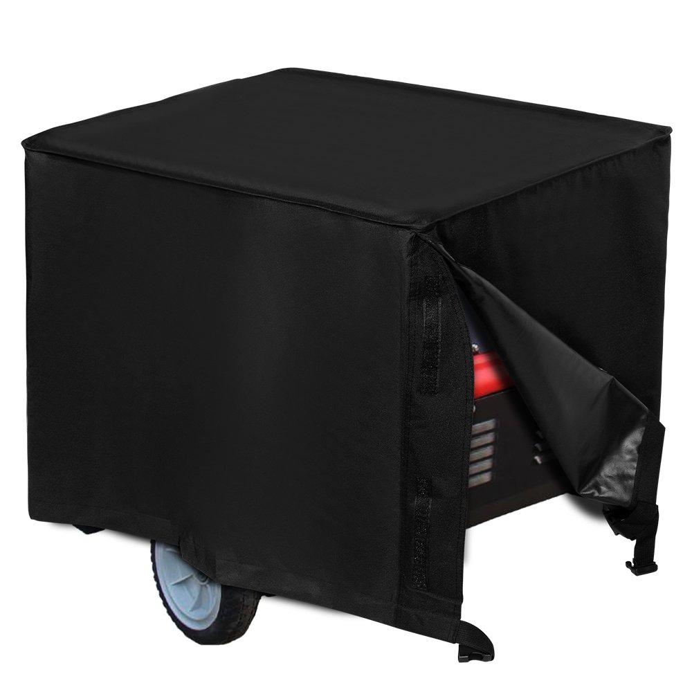 Lemonda Heavy Duty 600D Oxford Cloth Waterproof Universal Generator Cover, Protect Generator From Rain UV Rays Dust Snow (26 x 20 x 20 Inch)