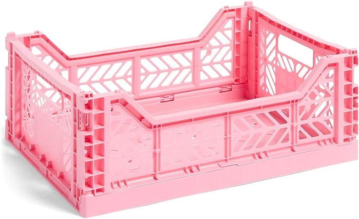 Hay Colour Crate M - Caja de Transporte, Color Rosa: Amazon.es: Hogar