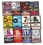 img - for James Patterson Womens Murder Club 12 Books Collection Pack Set (1st To Die, 2nd Chance, 3rd Degree, 4th of July, The 5th Horseman , The 6th Target , 7th Heaven , 8th Confession , 9th Judgement, 10th AnniversaryN, 11th HourNew, 12th of Never) book / textbook / text book
