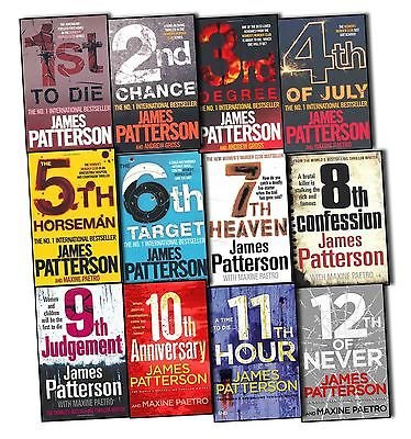 1st To Die (James Patterson Womens Murder Club 12 Books Collection Pack Set (1st To Die, 2nd Chance, 3rd Degree, 4th of July, The 5th Horseman , The 6th Target , 7th Heaven , 8th Confession , 9th Judgement, 10th AnniversaryN, 11th HourNew, 12th of Never))