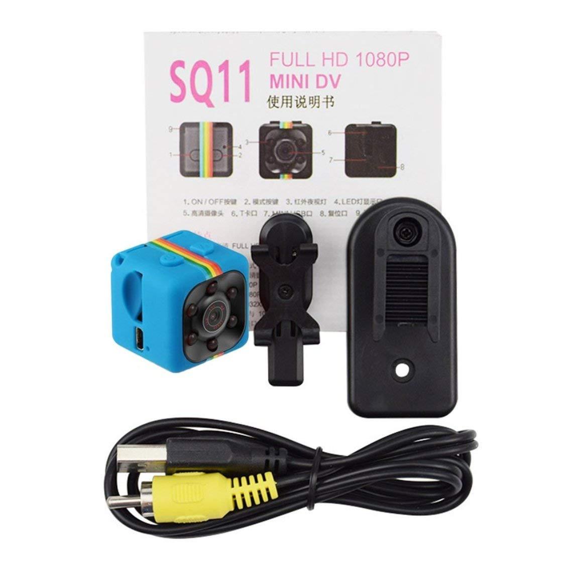 SQ11 mini macchina fotografica portatile 1080P HD Camcorder batteria al litio Voice Video Recorder Sport DV Camera di sostegno TF TV OUT