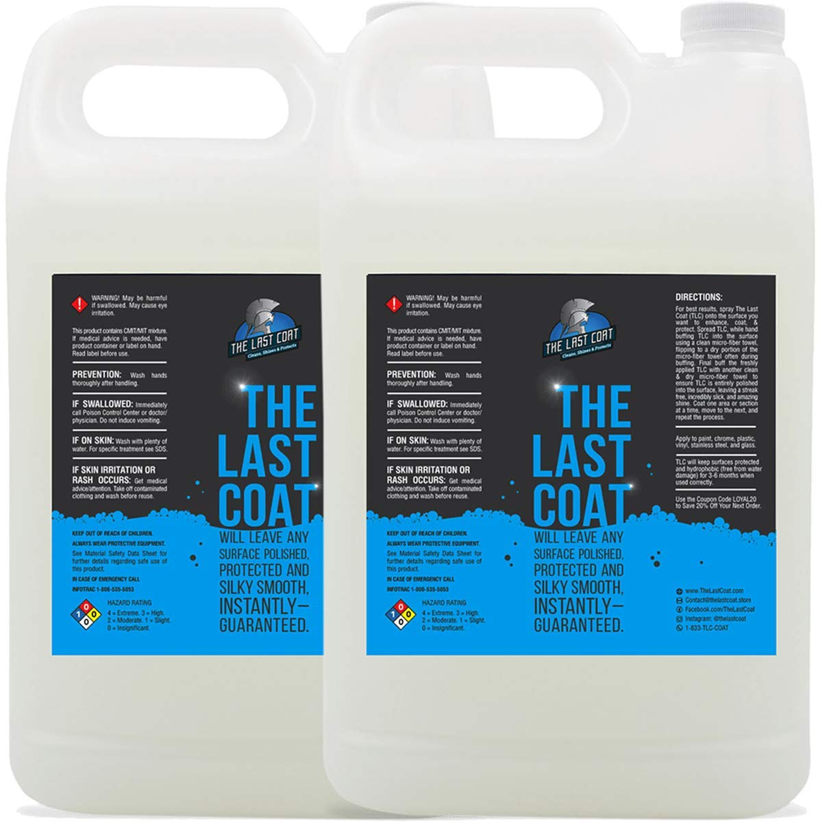 The Last Coat Car Polish - Water Based Liquid Coating Protection, Smooth & Shiny Finish - Paint Care & Repair for Car or Any Surface by The Last Coat (Image #1)