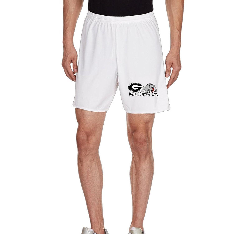 8c1af4c9f9 85%OFF Unisex NCAA Georgia Bulldogs Logo Gym Short - alpdest.cz