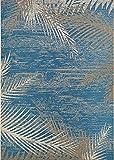 Cheap Couristan 2429/3108 Monaco Area Rug, 3'9″ x 5'5″, Ocean