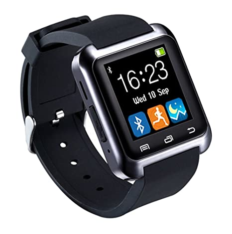 Amazon.com : Modogirl Smartwatch Black Wrisbands WeChat Anti ...