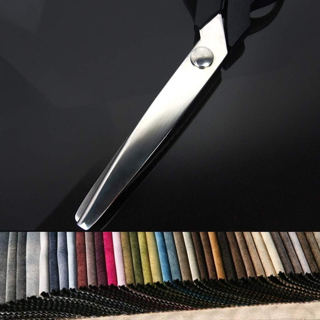 23,5 Cm Zick-Zack-N/ähschneider Schneiderschere Pinking Scissor Leather Craft HR-COME