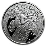 Dance: 1 oz Silver Proof Round Mucha Collection (Dance)
