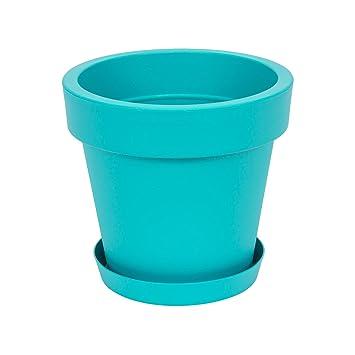 Pot De Fleur Avec Soucoupe En Plastique Lofly Classique 30 Cm Diam