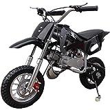 X-PRO 50cc Dirt Bike Gas Dirt Bike Kids Dirt Bikes Pit Bikes Youth Dirt Pitbike 50cc Mini Dirt Bike,Black
