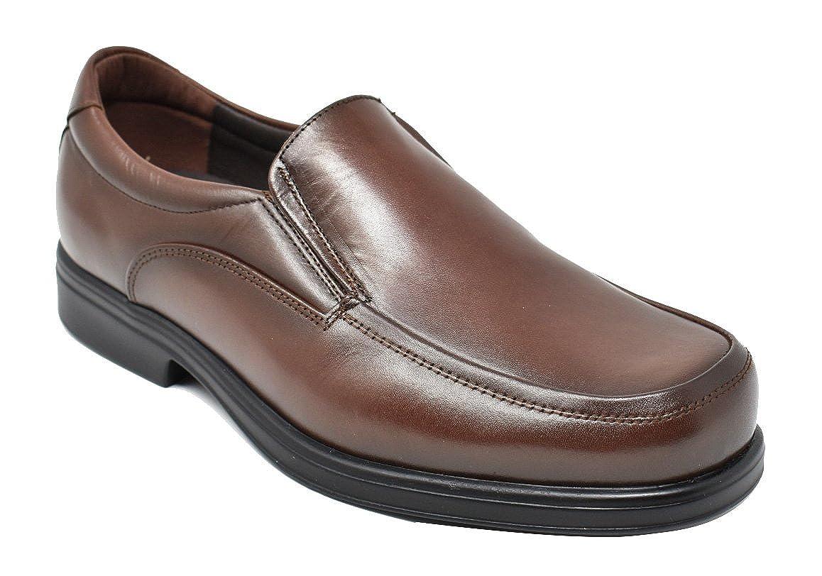 Tolino 7992 - Marrón - Ancho Especial - Zapato sin Cordones Hombre 40 EU