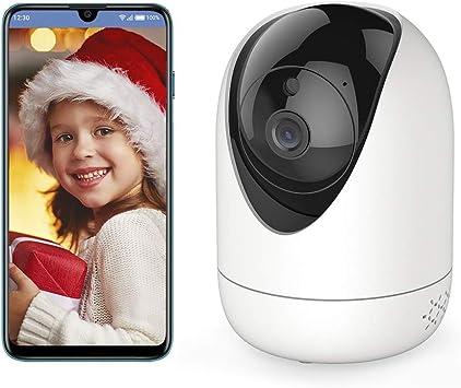 Opinión sobre Cámara de Vigilancia IP, Cámara de VIgilancia WiFi, Myada 1080P Cámara IP Interior Inalámbrico con Seguimiento Automático, Audio, View Remotely, Para 2.4GHz WiFi Compatible con iOS/Android