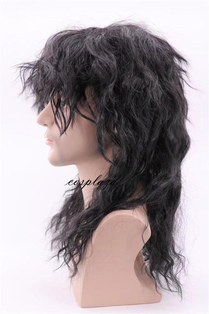 COSPLAZA Peluca 80s Heavy Metal Rocker Cosplay Wig Adult ...