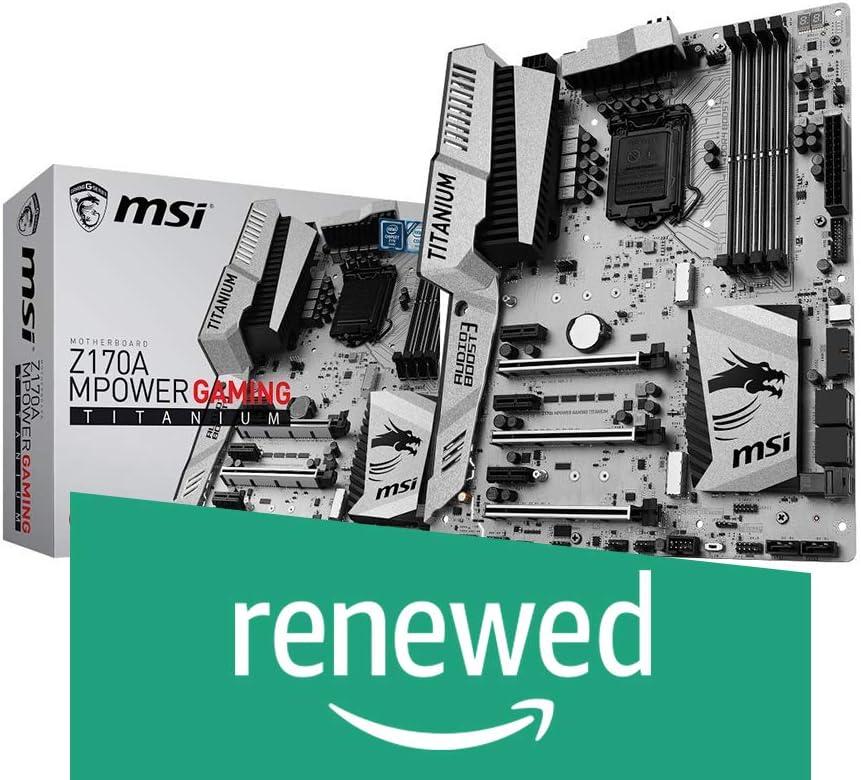 MSI Enthusiastic Gaming Motherboard (Renewed)