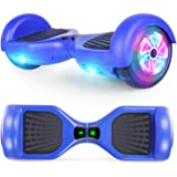 CBD Bluetooth Hoverboard for Kids, 6.5 Inch Two Wheel Hoverboard, Self Balancing Hoverboard with Bluetooth and LED…
