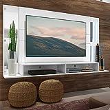 "Painel Tv 60"" com Espelho Tókio Multimóveis Branco"