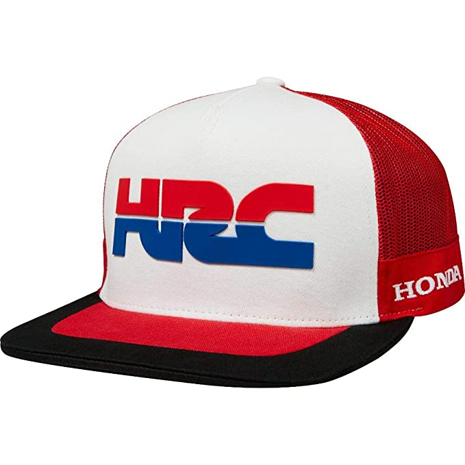Amazon.com  Fox Racing HRC Redplate Pro Snapback Hat  Fox Racing ... 4390ee323bc