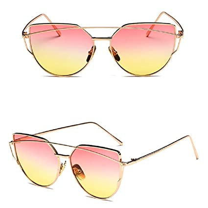 Amazon.com: niceskin Retro ojo de gato anteojos de sol tonos ...
