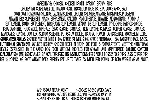 Natures-Recipe-Wet-Dog-Food-Chicken-Recipe-In-Broth-275-Ounce-Cup-Pack-of-24