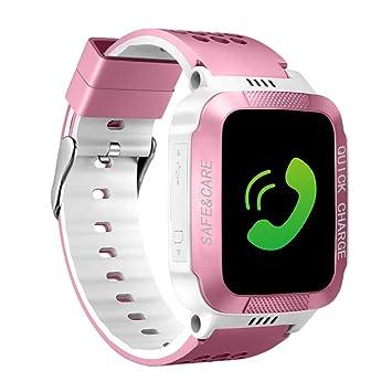 Relojes inteligentes para niños Smartwatch GPS rastreador teléfono llamada digital reloj de pulsera deportivo reloj inteligente
