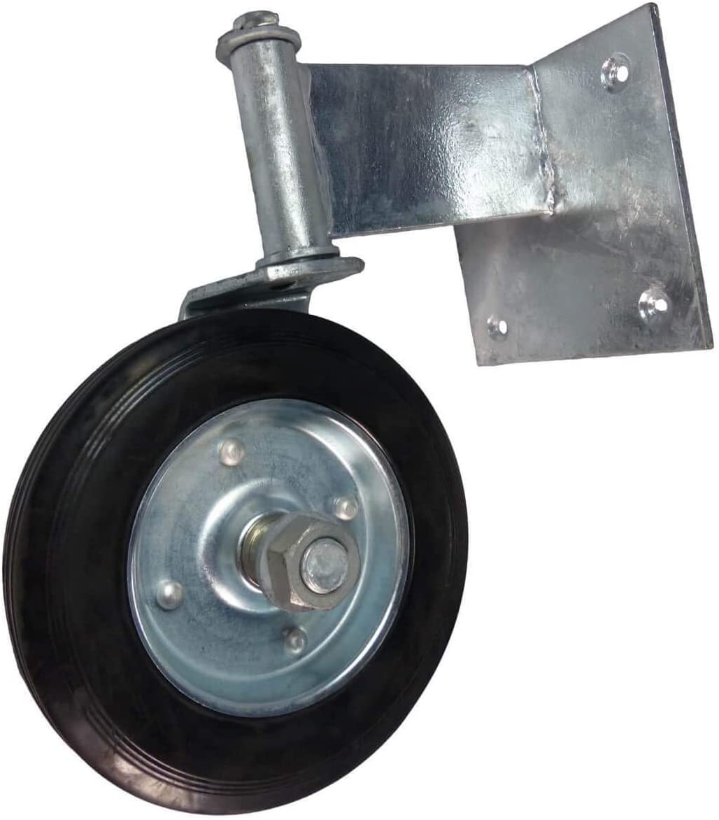 Jake Sales Swivel Wheel for Swinging Wood Gate. Galvanized Steel Guards Against Rusting. Product is Easy to Install