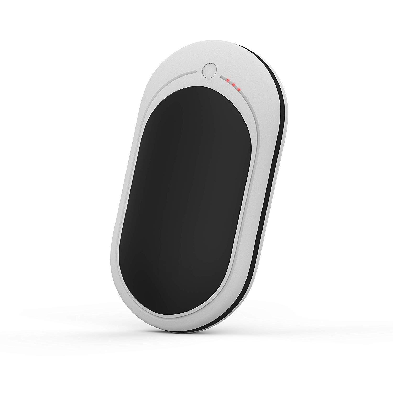 ... 5200mAh Réchauffeur de Poche électrique Portable Réchauffeur de Banque  électrique Power Bank Réchauffement Double Face Cadeau pour Femmes et  Hommes en e7b8a669d8b4