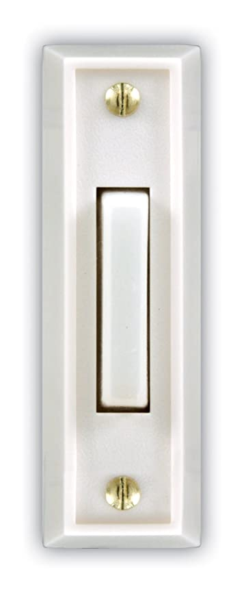 Amazon.com: Heath Zenith SL-715-1-02 Wired Door Chime Push Button ...