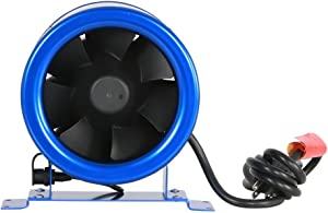 Hyper Fan GL56701400 Digital Mixed Flow 6 Inch   Energy Efficient,Quiet Operation, Includes Speed Controller-ETL Listed Built-in-Household-Ventilation-Fans, 6-Inch, natural