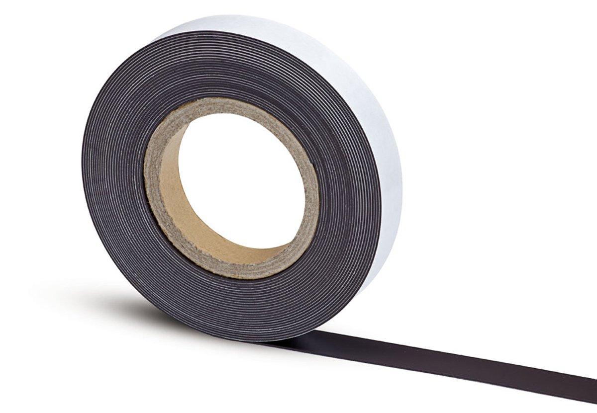 MAUL 6157609 tira magnética blanco) - tiras magnéticas (Negro, Color blanco) magnética 64697a