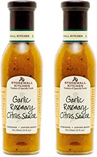 product image for Stonewall Kitchen Garlic Rosemary Citrus Sauce, 11 Ounces (Pack of 2)