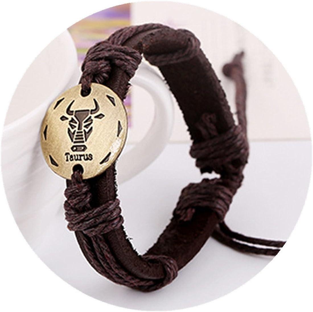 Career Finance Health Taurus Zodiac Adjustable Handmade Tie Unisex Bracelet Spiritually Charged Positive Energy All Areas of Life Love