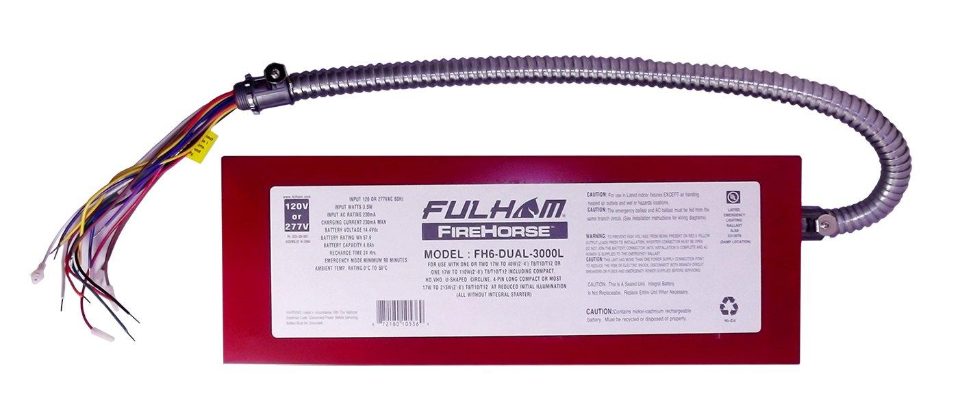 Fulham FH6-DUAL-3000L FireHorse Fluorescent Emergency Ballast