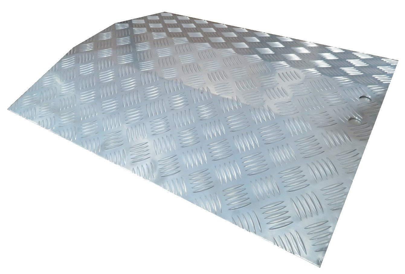 WORHAN® Rampa de Umbral Aluminio Anodizado Rígida Silla de ...