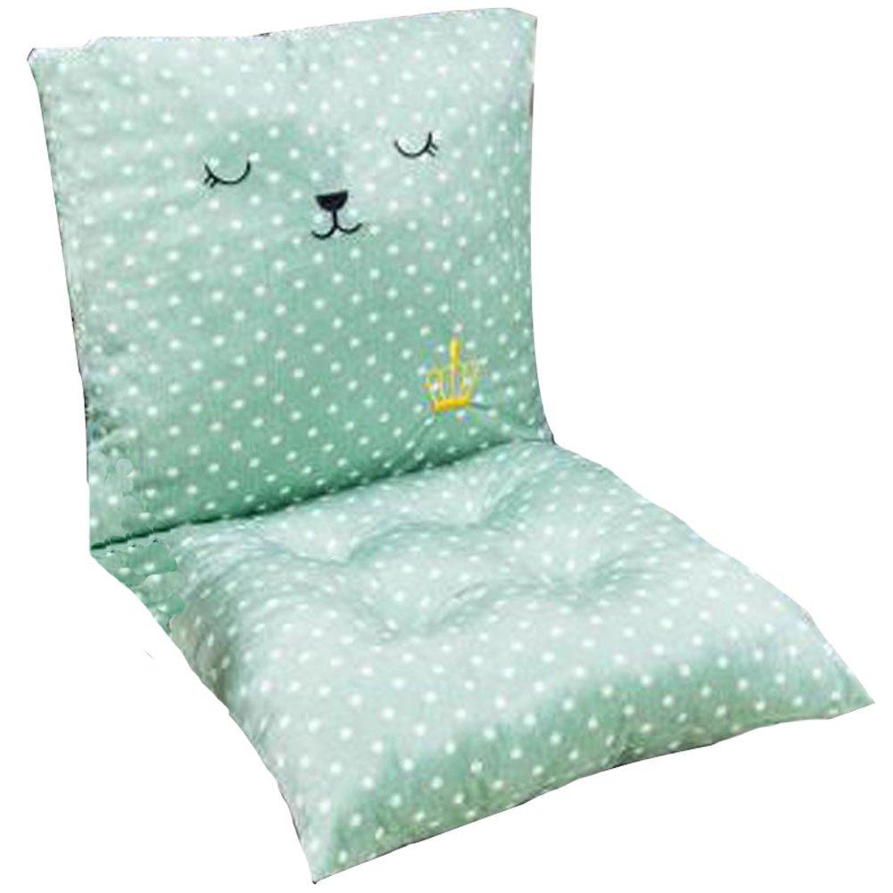 かわいいメモリーフォーム椅子パッドクッショングラスグリーン   B01CY79YRG