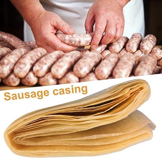 Cumberland Sausage Kit Sausage Meat Stuffer Filler /& Collagen Casings