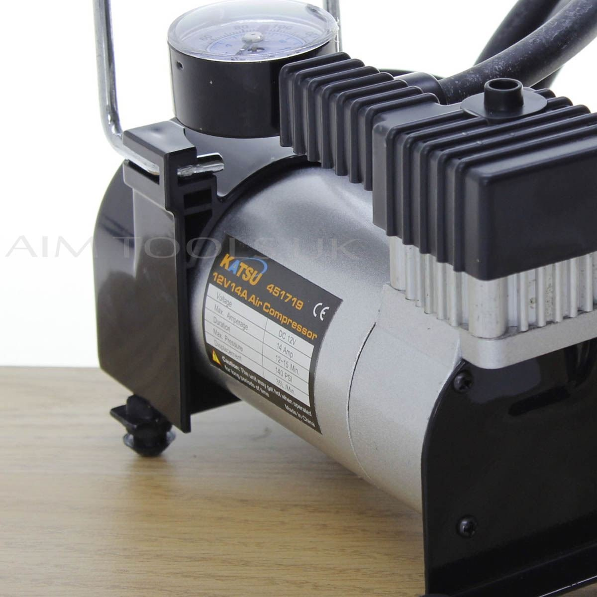 KATSU/Â/® 451719 Car Tyre Inflator Air Compressor 12V Great Value For Money