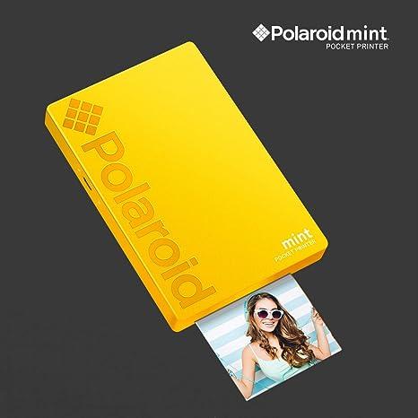 Polaroid Mint Impresora de Bolsillo Inalámbrica (Amarillo ...
