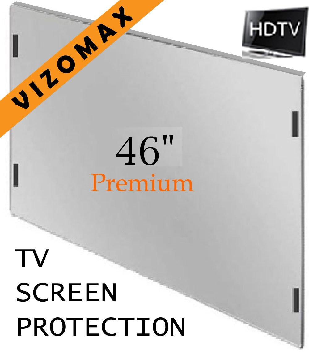 46 inch Vizomax TV Screen Protector for LCD, LED & Plasma HDTV by Vizomax
