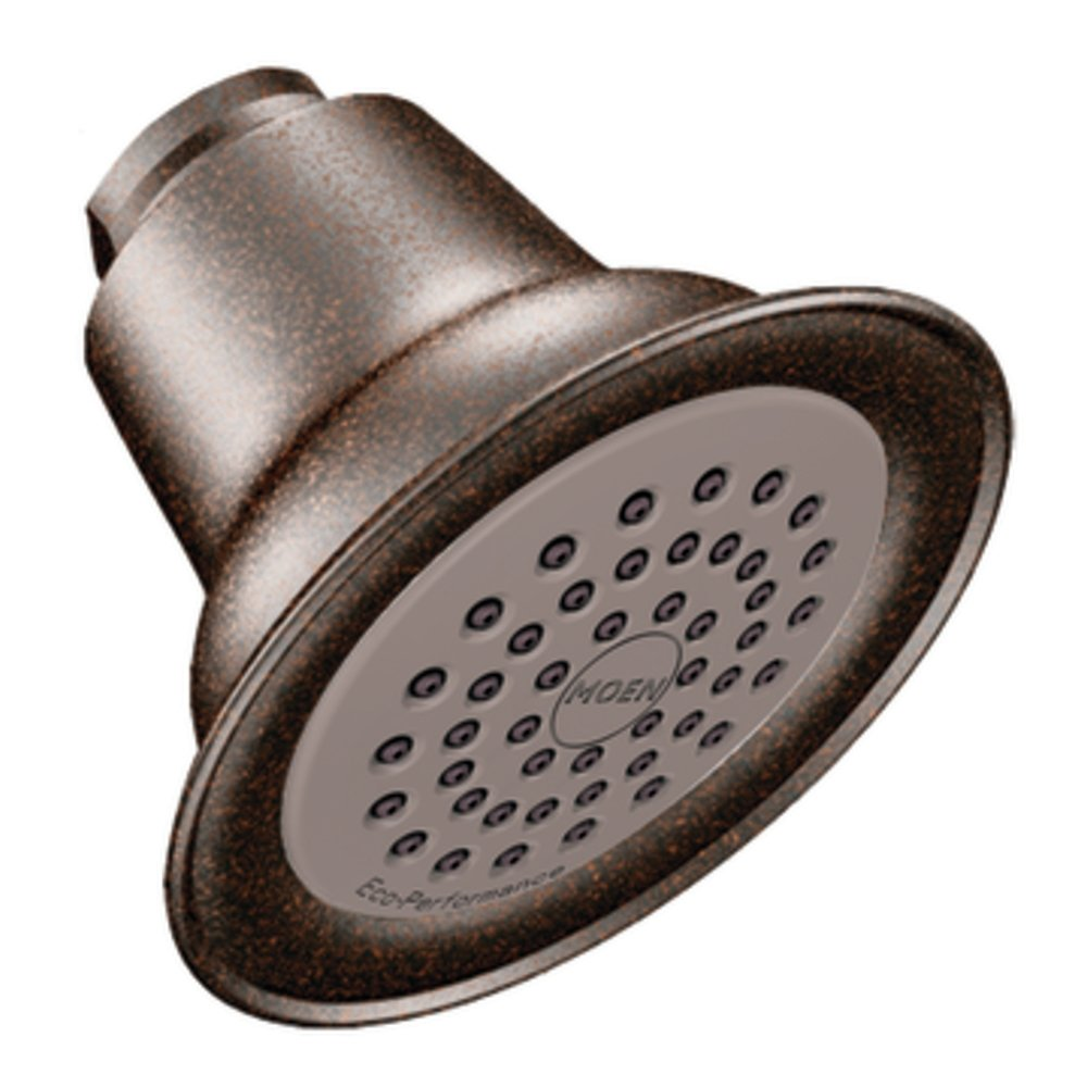 Moen 6303EPORB One-Function Eco-Performance Shower Head, Oil Rubbed ...