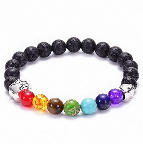 5 Strds Gorgeous Natural Lava Beads Round Black Loose Gemstone Rock Bead 8~8.5mm